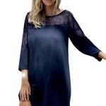 Dámská noční košilka Aksel tmavě modrá