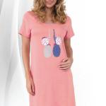Dámská noční košilka Baby růžová