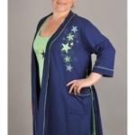 Dámská souprava košilka a župan Hvězdy 4273 – Vienetta