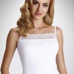 Dámská spodní košilka Charlotte bílá