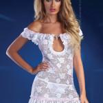 Dámské šaty Mija white