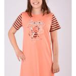 Dětská noční košile s krátkým rukávem Včela