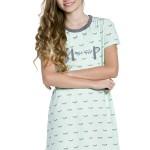 Dívčí noční košilka Amélie Sleep zelená