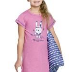 Dívčí noční košilka Matylda se zajíčkem