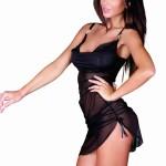 Erotická košilka 902 Amandine black