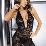 Erotická košilka Brilliant Jennifer black