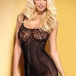 Erotická košilka D204 black
