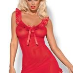 Erotická košilka Electra chemise red XXL