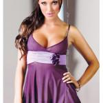 Erotická košilka Fiore violet