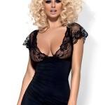 Erotická košilka Imperia chemise black