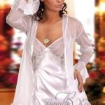 Erotická košilka Sweet Paula white