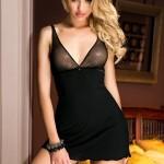 Erotická košilka Viki black