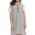 Kojící/těhotenská noční košile Dn-nightwear TM.9207