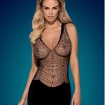 Košilka D603 dress – Obsessive
