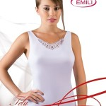 Košilka Emili Tela S-XL bílá