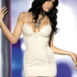 Košilka Ivory dress – Obssesive