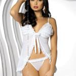 Košilka Madame white – Obsessive