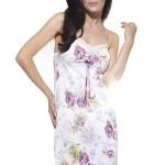 Luxusní noční košilka Mariana květy