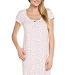 Mateřská noční košile Cindi růžová