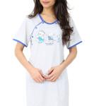 Mateřská noční košile Helena modrá