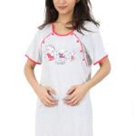 Mateřská noční košile Helena růžová