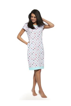 Dámská noční košile Nina 2 637 81 – Cornette  c6e683b435