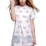 Noční košile Elisa  růžová