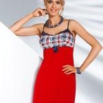 Noční košilka Donna Salsa red