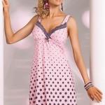 Noční košilka Donna Sonia pink