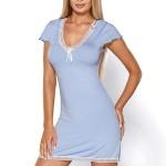 Noční košilka Hamana Virginia light blue