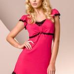 Noční košilka Passion PY001 deep pink