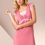 Noční košilka Passion PY002 old-pink
