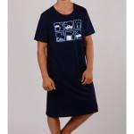 Pánská noční košile s krátkým rukávem Hra