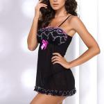 Sexy košilka Donna Jessica II Sensual black