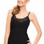 Spodní košilka Violana Ofelia black – ramínka
