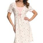 Těhotenská/kojící noční košile TCB.4044 –  Dn-nightwear