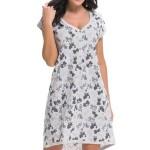 Těhotenská/kojící noční košile TM.9247 – Dn-nightwear