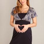Těhotenská/kojící noční košilka 1676 MK – LUPOLINE