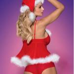 Vánoční kostým Merrily babydoll – Obsessive